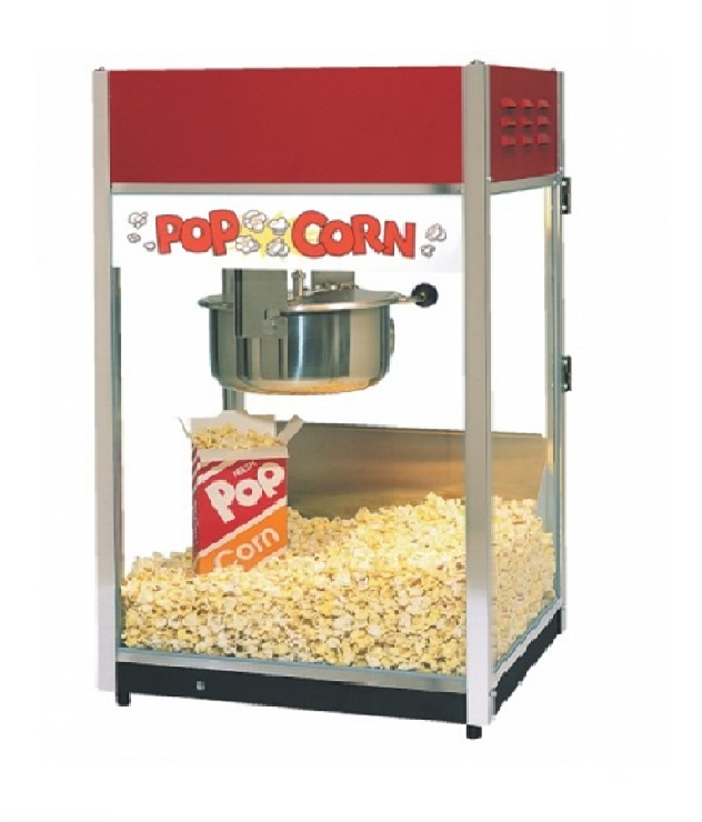 Concession popcorn machine rental bounce house tulsa