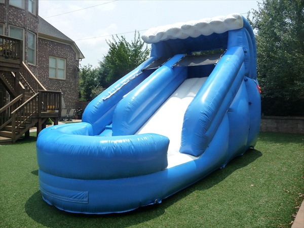 15 ft surfs up water slide bounce house rental tulsa
