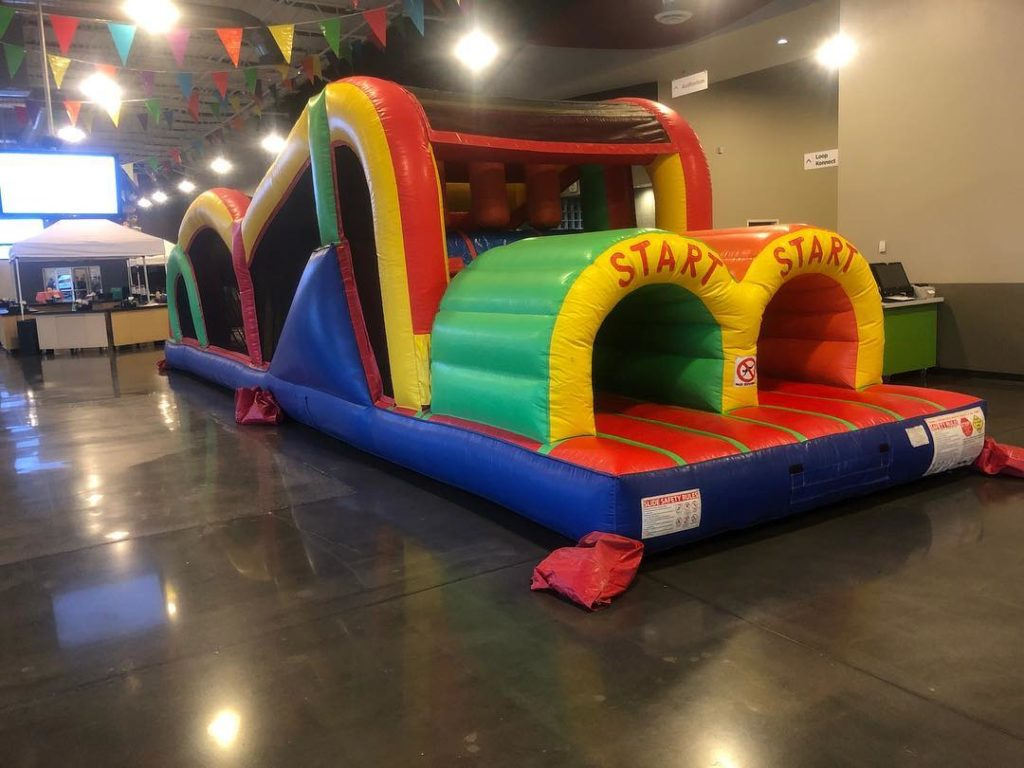 40 ft obstacle course bounce house rental tulsa