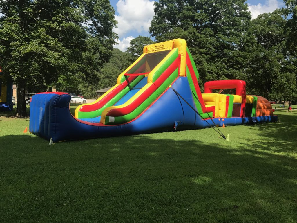 52 ft obstacle course bounce house rental tulsa