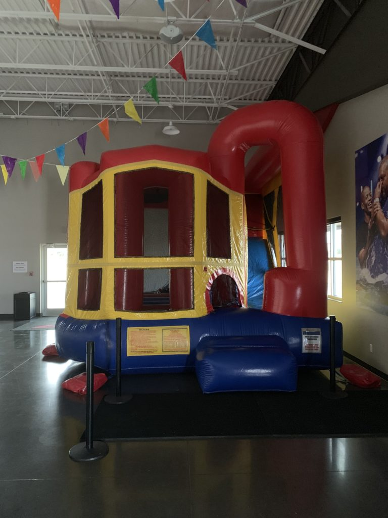 Backyard Combo Bounce House Rental slide tulsa