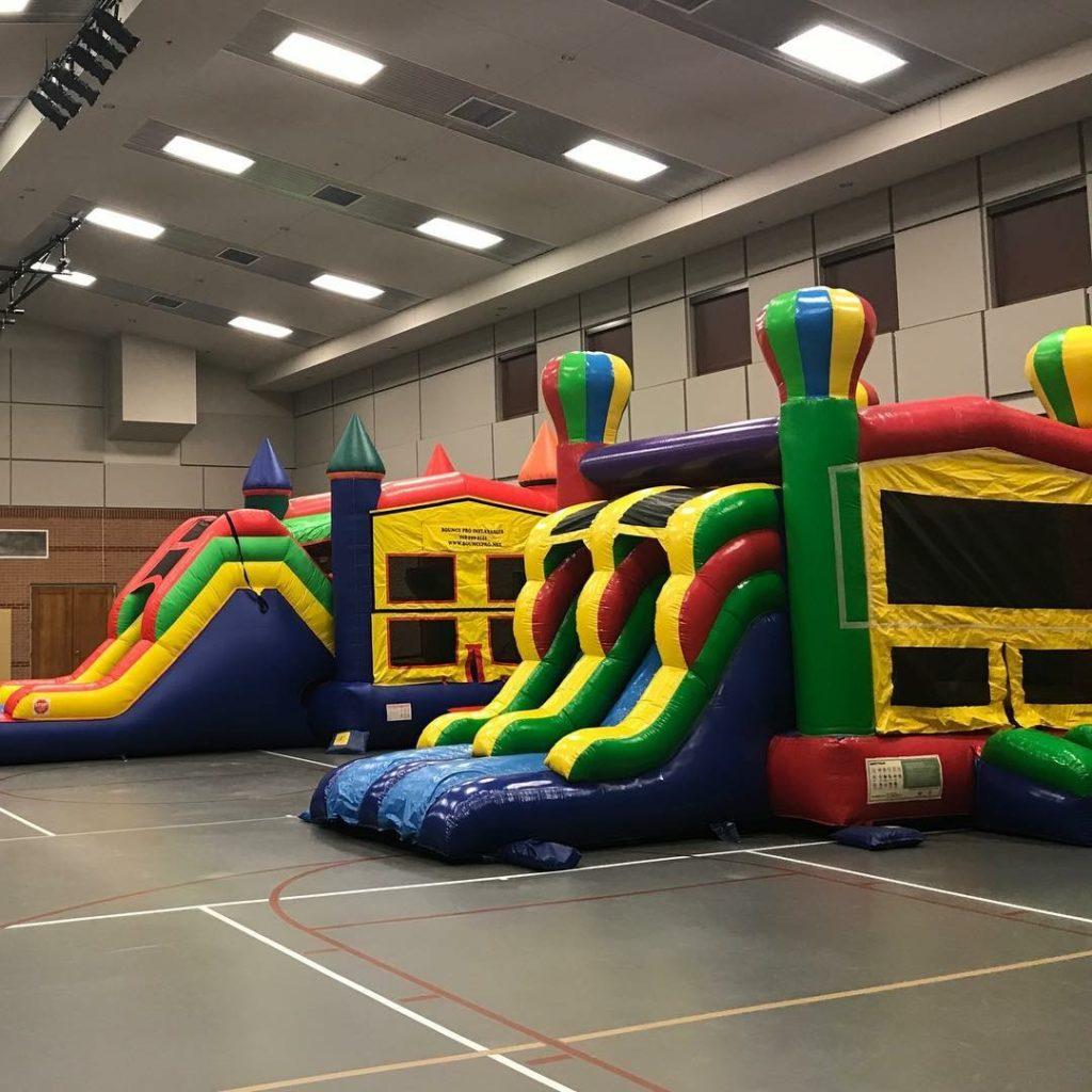 Balloon Combo Bounce House Rental Slide tulsa