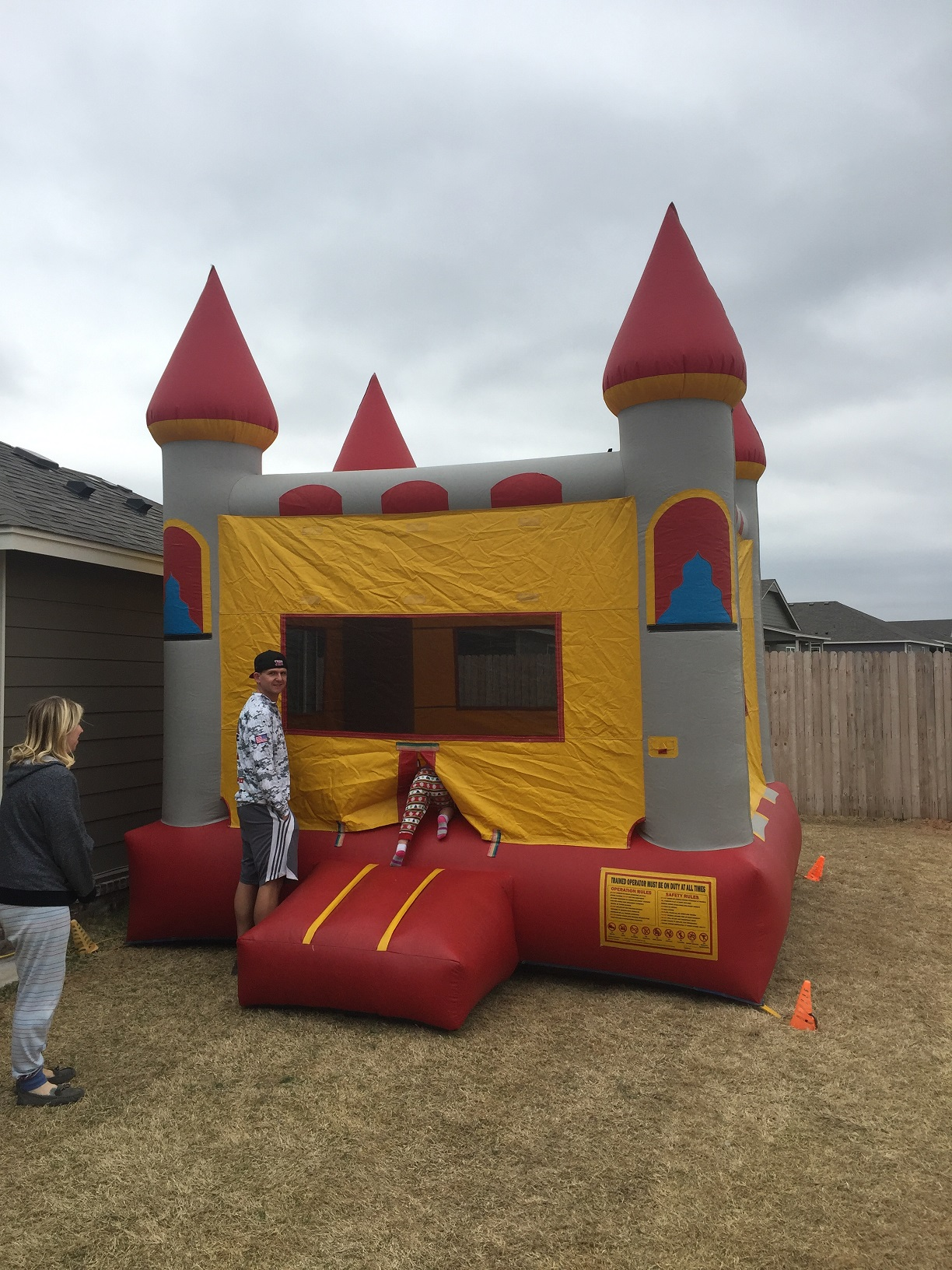 Classic Castle Bounce House Rental Tulsa