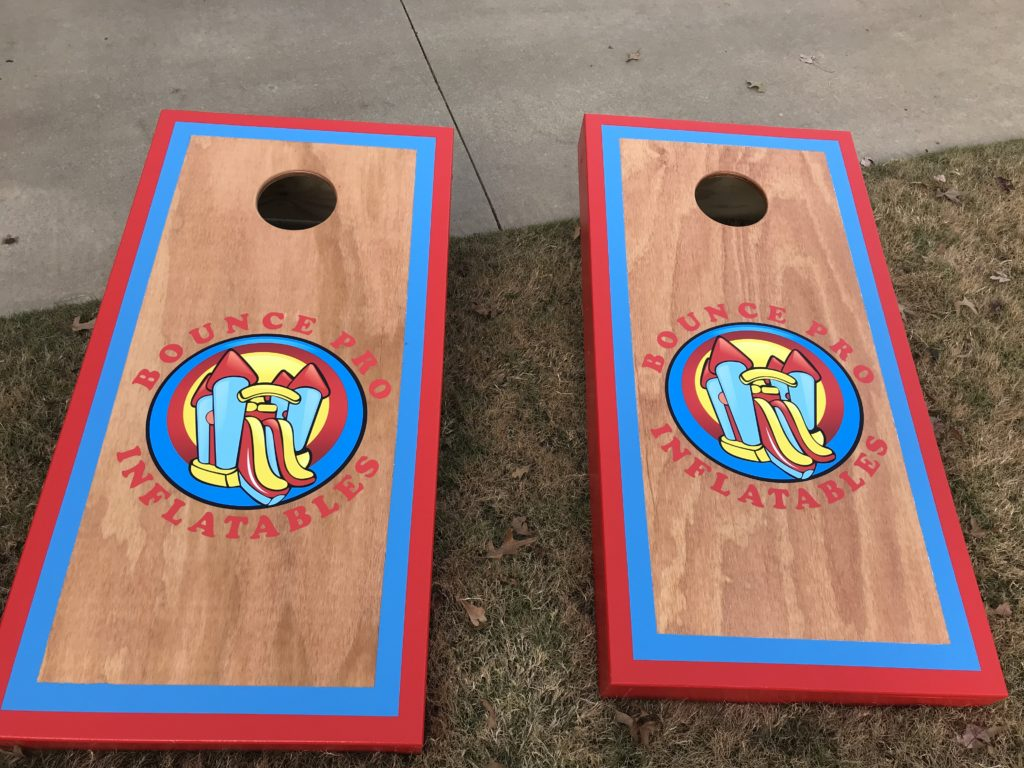 Corn Hole Toss Bounce House Rental Tulsa