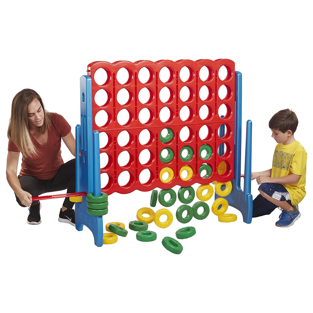 Giant Connect 4 Jumbo Game bounce house rental tulsa