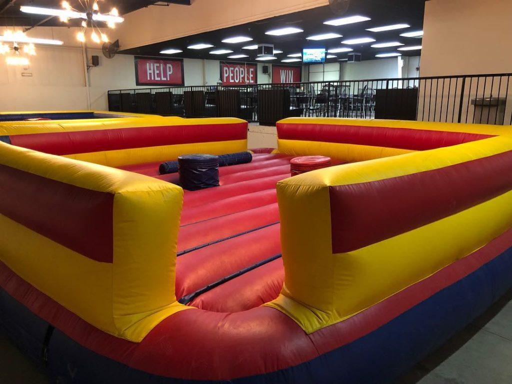 Gladiator Joust Bounce House Rental Tulsa