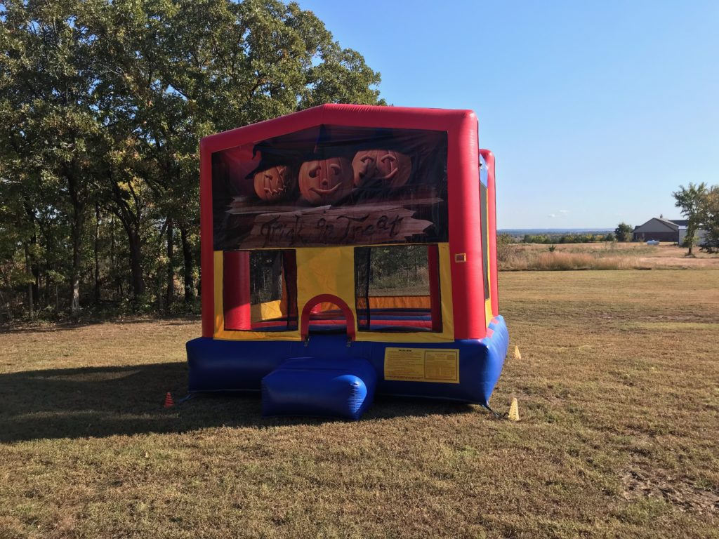 Halloween modular Bounce House rental tulsa bounce pro