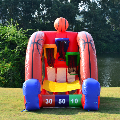 Jumbo Games Basketball Challenge Bounce House Rental Tulsa