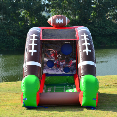 Jumbo Games Football Challenge Bounce House Rental Tulsa