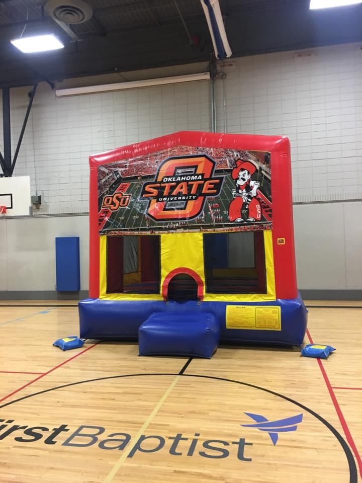 OSU Cowboys bounce house rental tulsa bounce pro
