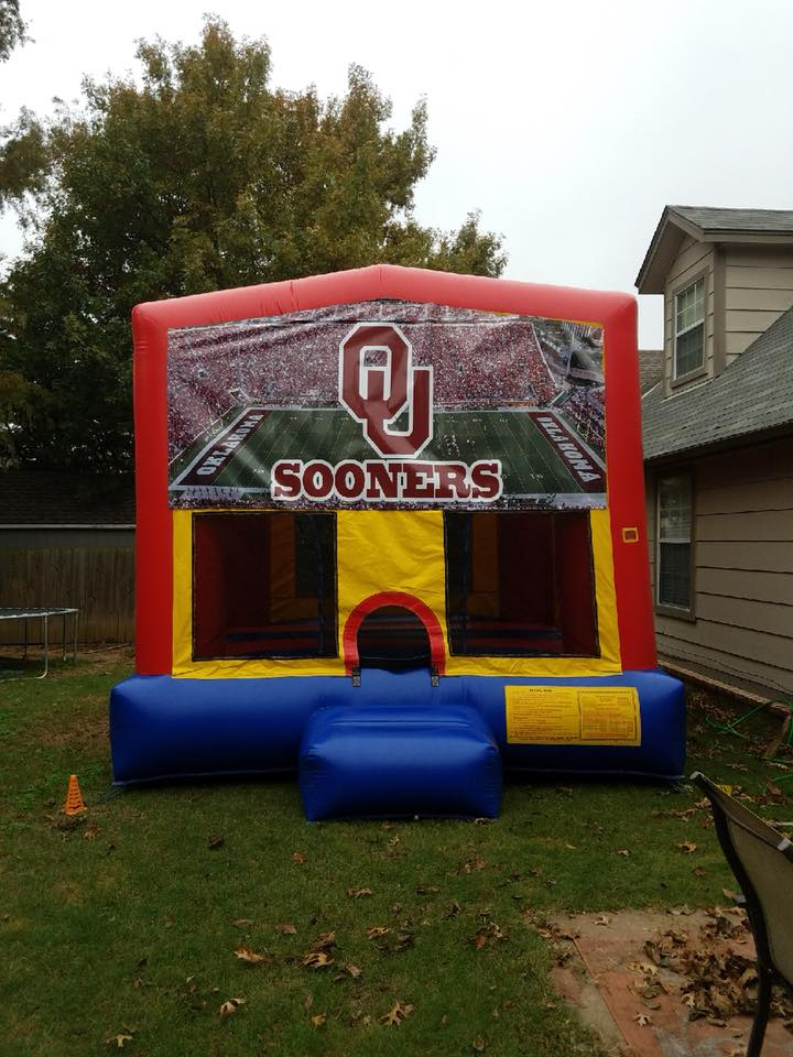 OU Mod Jump bounce house rental tulsa bounce pro