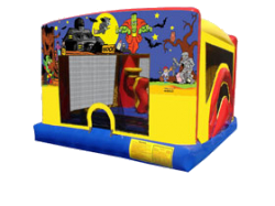Toddler Combo bounce house slide tulsa Halloween