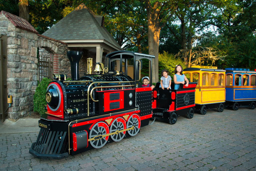 Trackless Train Rental Tulsa 2