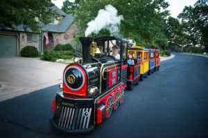 Trackless Train Rental Tulsa