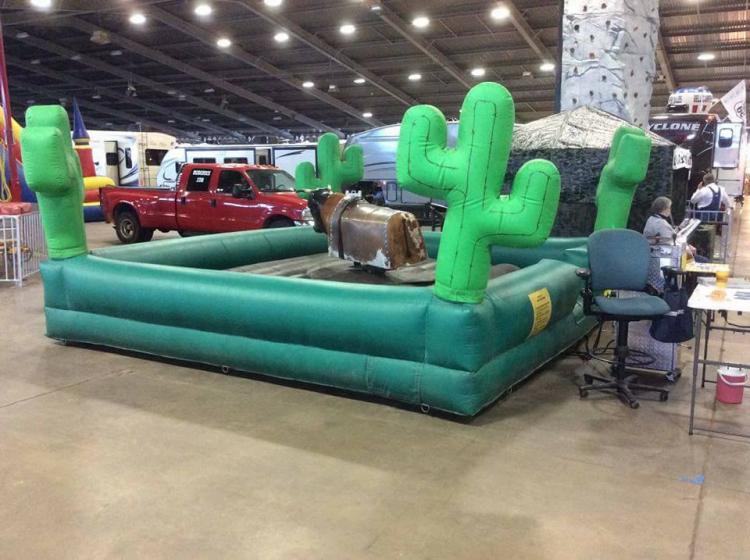 Mechanical Bull Rental Bounce Pro Tulsa