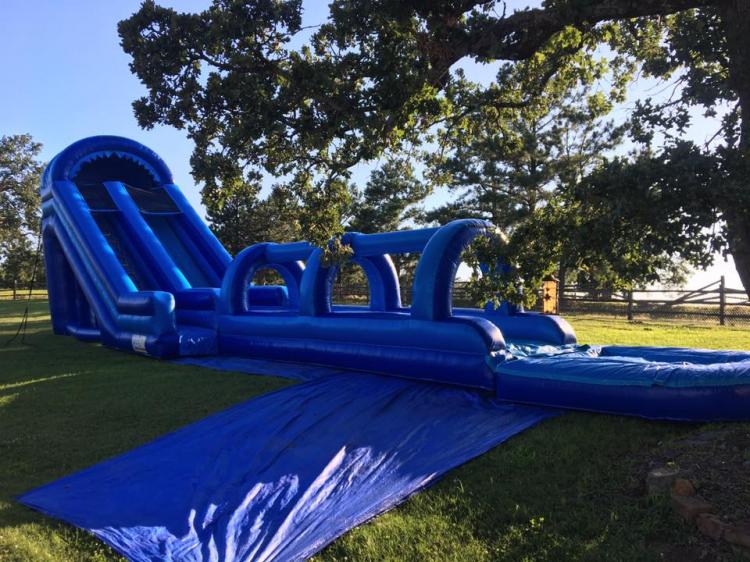 Big Blue Slip and Slide