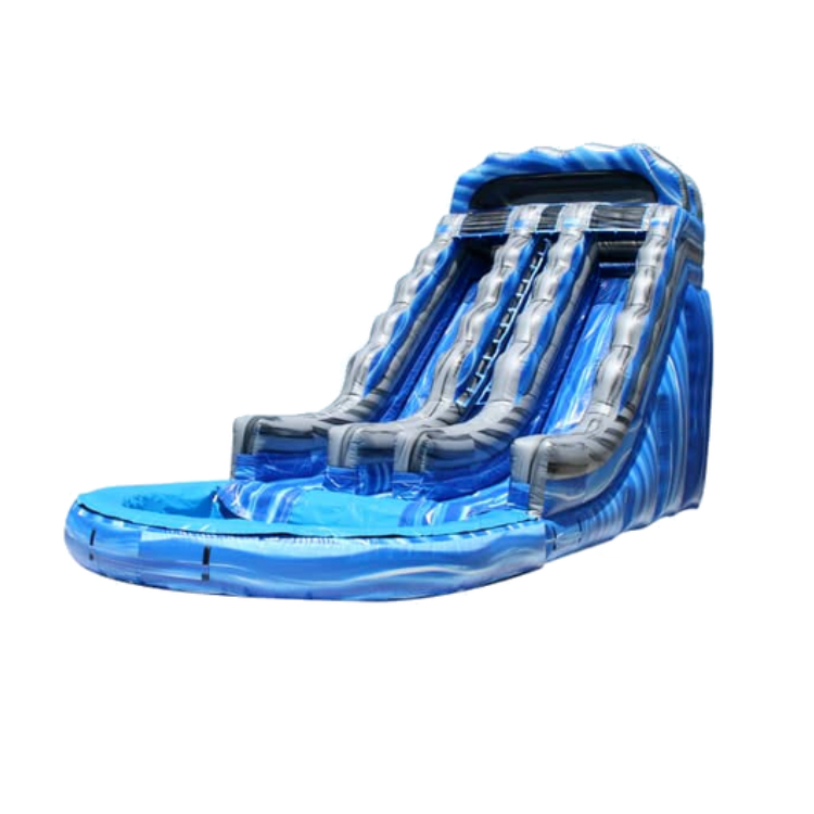 19' Dual Lane Water Slide
