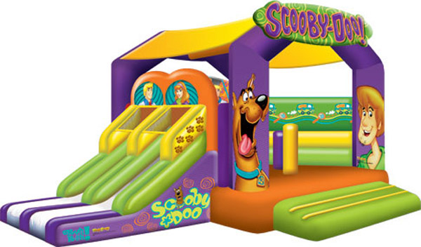 Scooby Doo Toddler Combo Bounce House Rental tulsa